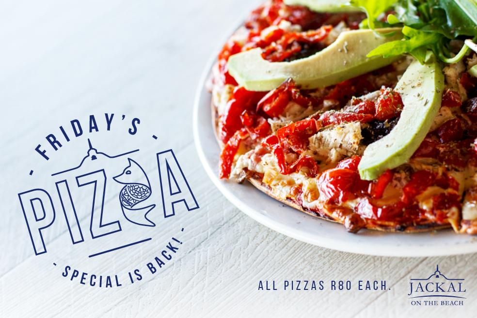 Jackal Pizza Special
